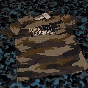 Brand New with tags Abercrombie kids camo T-shirt